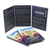 Haut de Gamme Affichage LCD 7 pouces d'impression Handmade Tri-Folded Vidéo Brochure Mailer numérique pour la publicité des entreprises de cartes de voeux