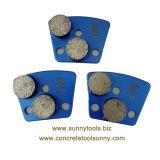 2 Schoen van de Stootkussens van de Diamant van het Trapezoïde van de staaf de Malende voor de Molen van de Vloer