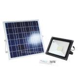 屋外の庭の機密保護の照明10With20With30With50Wリモート・コントロール太陽フラッドランプ