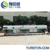 Conclusão automática de linha de extrusão de plásticos de água e o tubo de esgoto e drenagem