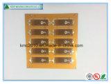 Quick_Turnプロトタイプ屈曲PCBのボードの黄色のはんだマスク