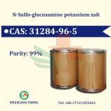 De Hoge Zuiverheid 99% CAS Nr 31284-96-5 van het Kalium van het Sulfaat van de glucosamine