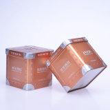 包み、ギフトの包装茶のための中国の製造者の正方形の錫ボックス卸売