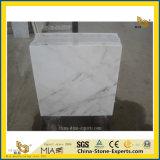De Goedkope Witte Marmeren Tegel van het Bouwmateriaal voor Bevloering/Muur/Binnenhuisarchitectuur