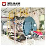 産業設備は、石油燃焼の蒸気ボイラにガスを供給する