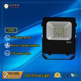 l'indicatore luminoso di inondazione di 10W SMD3030 110lm/W LED con la parete/ha basato/installazione montata soffitto
