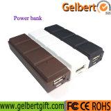 新しく小さい小道具チョコレートユニバーサル携帯用力バンク