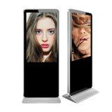Voller HD IPS unabhängiger androider Touch Screen 55 Zoll LCD-Monitor mit Schleifen-Video