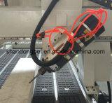 4つの軸線Atcの木工業の彫版木製CNCのルーター機械