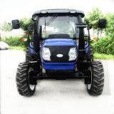 70HP Tractor met 4 wielen met de VoorGehechtheid van de Lader en Backhoe