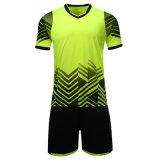 昇華サッカーのジャージーの卸し売りフットボールのクラブのための均一サッカーのワイシャツ