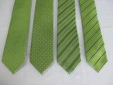 Cor vermelho escuro de moda masculina micro fibra Jacquard gravata