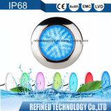 IP68 monté en surface LED RGB Piscine Underwater lumière télécommande WiFi