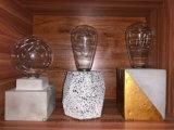 Bougie de ciment le socle, le support de feu de béton (GZHY-FP-033)