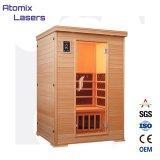 Хорошее качество до сих пор инфракрасный личного использования в домашних условиях роскошь сауной и паровой душ кабин инфракрасная сауна