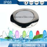 40W 4000lm rempli de résine LED IP68 monté en surface sous la lumière de la piscine