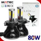 Super brillante H3 24W 2400LM Kit de faros Lámparas de luces de 6000k Faro de LED de alta potencia