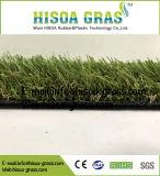 庭のヤードのコマーシャルのための人工的な草の総合的な泥炭を美化するCの形4カラー