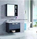 PVC Armoire miroir de la mode moderne salle de bains en acier inoxydable de la vanité du Cabinet comme-1113