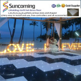 Танцевальная площадка классицистического цвета изменяя белая Starlit СИД партии Wedding&Exhibition