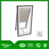 Высококачественный алюминиевый тент окна с двойными стеклами