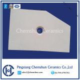 Le mattonelle di ceramica di taglio dell'allumina resistente all'uso della Cina hanno personalizzato