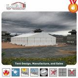 grande tenda di evento di 25X40m con altezza laterale di 6m per la sede della riunione mobile