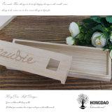 Caisse d'emballage en bois faite sur commande de cadeau de relation étroite de Hongdao pour les hommes Wholesale_C