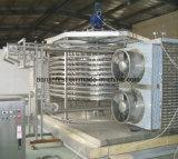 Máquina espiral del congelador de la congeladora IQF de la ráfaga del alimento de mar