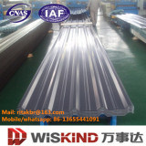 Tôle d'acier ondulée galvanisée de toit