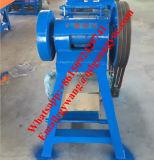 Les déchets des pneus radiaux Machine de découpe de bloc