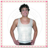 2013 Slim мужчин V-образный вырез жилета тонкий поднимите бесшовная майка мужчин похудение мужчин Shaper кузова