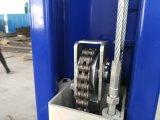 Elevatore idraulico dell'automobile del pavimento dei due alberini del cilindro libero del doppio