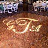 projetor do Gobo do logotipo do diodo emissor de luz da luz da parede do casamento 4500lm