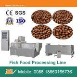 Alimentação dos peixes que faz a maquinaria