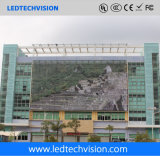 Afficheur LED transparent de rideau en P16mm pour la publicité