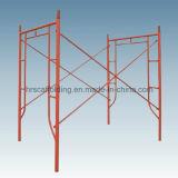 Andamio de acero del marco del recorrido H del sistema de la construcción del metal de la alta calidad