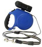 Einziehbare abnehmbare 9 LED Taschenlampen-bequemer Griff-Verschluss-Entriegelung-Katze-Hund der Riemen-Leine-16 Fuß