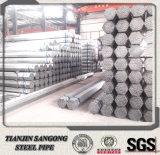 Diferentes tamaños de rosca de acero al carbono de la soldadura de tubo galvanizado