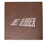 De RubberTegels die van de kleur EPDM met Uitstekende kwaliteit bedekken
