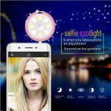O Anchorwoman como o ponto instantâneo do diodo emissor de luz do produto manufaturado da luz da suficiência toma a beleza a luz redonda viva de Selfie do anel da luz da suficiência dos telefones de Apple