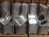 Контейнер еды алюминиевой фольги контейнера еды