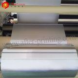 Pellicola di poliestere adesiva metallizzata argento