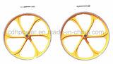 Rueda de bicicleta de colores para las ventas