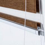 Guichet monochromatique d'abat-jour de rouleau de zèbre de couche duelle jour et nuit