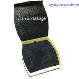 Черная бумажная коробка упаковки подарка ювелирных изделий Jy-Jb102