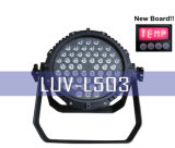 54X3w 10CH LED-trapverlichting-54X3w LED voor buitenshuis, PAR CAN