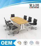 Executivo Teakwood moderna mesa de conferência