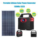 20With30Wリチウム電池の携帯用太陽電池のホーム発電機150wh