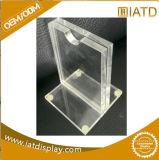 Piso de acrílico transparente emergente Mostrar soportes pastel